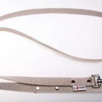 180 cm hosszú, 2,5 cm széles JUICY póráz - bézs