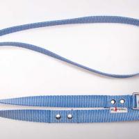 180 cm hosszú, 2,5 cm széles JUICY póráz - babakék