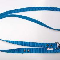 180 cm hosszú, 2,5 cm széles JUICY póráz - kék
