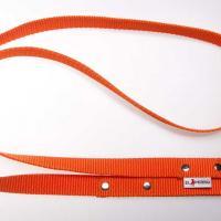 180 cm hosszú, 2,5 cm széles JUICY póráz - narancs