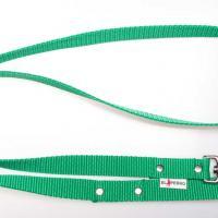 180 cm hosszú, 2,5 cm széles JUICY póráz - zöld