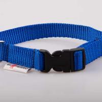 2 cm széles JUICY PUPPY CLICK nyakörv - kék
