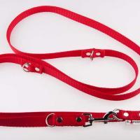 240 x 2 cm-es JUICY póráz - piros