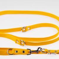 240 x 2 cm-es JUICY póráz - sárga