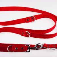 240 x 2,5 cm-es JUICY póráz - piros
