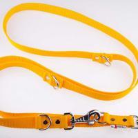 240 x 2,5 cm-es JUICY póráz - sárga